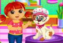 Dora Puppy Caring